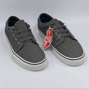 Vans Canvas Gray Skate Shoes Mens Sz 8.5